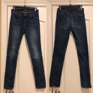 7 For All Mankind Roxanne skinny Jeans size 25